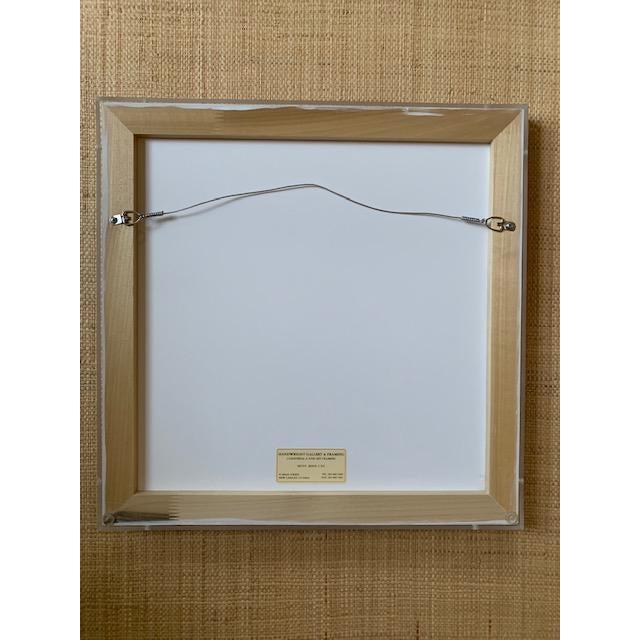 Hermes Scarf Framed in Plexiglass Box For Sale In New York - Image 6 of 7