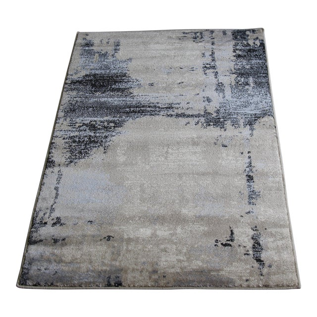 Contemporary Brown Abstract Rug - 8' X 10'7'' - Image 1 of 6