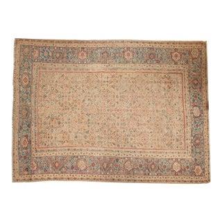 """Antique Mahal Carpet - 8'6"""" x 11'5"""" For Sale"""