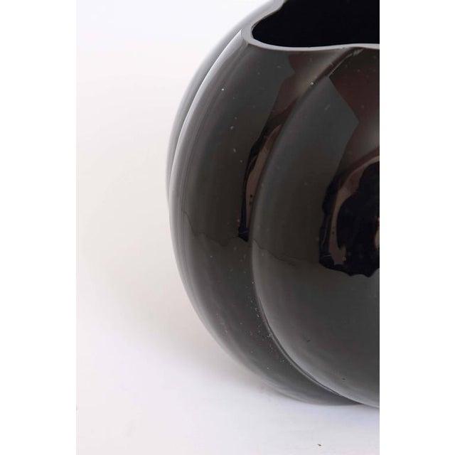 George Sakier Fostoria Modernist Fishbowl Vase For Sale - Image 10 of 11