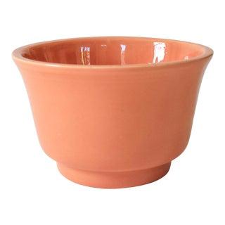 Peach Ceramic Haeger Planter For Sale