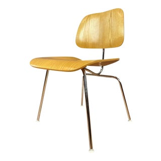 Charles and Ray Eames for Herman Miller Ash Dcm Chair 'A', 1999 For Sale