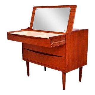 Arne Vodder Secretary Vanity Desk Dresser for Sibast For Sale