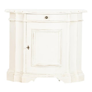 Antique White Gustavian Sideboard For Sale
