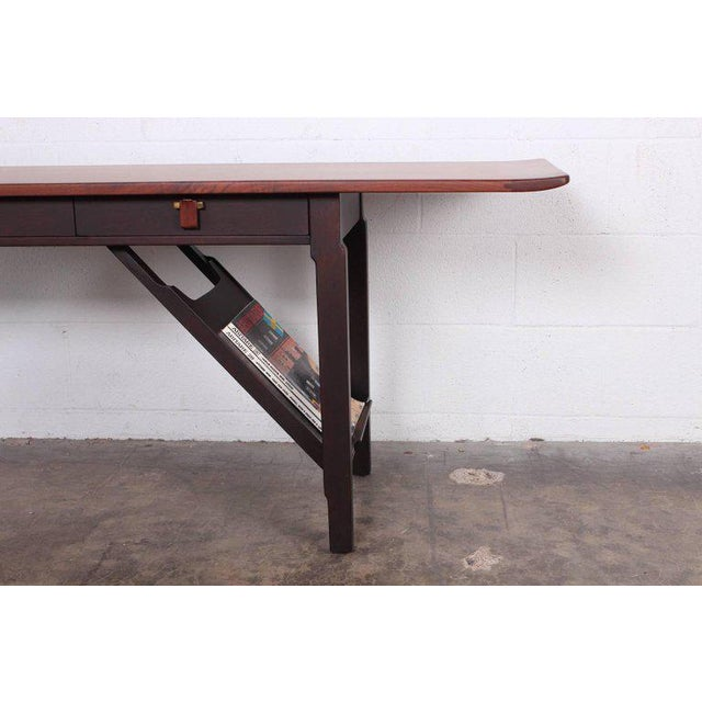Dunbar Console or Sofa Table by Edward Wormley For Sale - Image 10 of 11