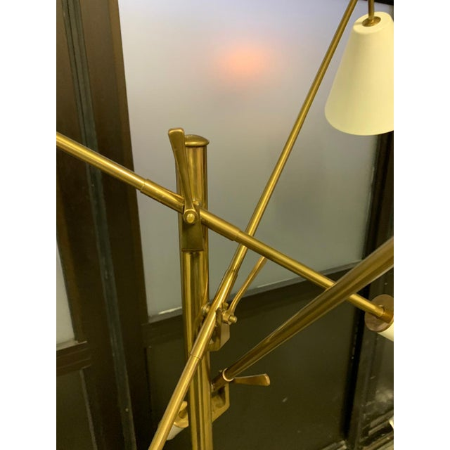 Arredoluce 1950s Triennial Floor Lamp by Angelo Lelli for Arredoluce For Sale - Image 4 of 9