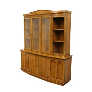 Late 20th Century Vintage American of Martinsville Italian Neoclassical Tuscan Cabinet For Sale
