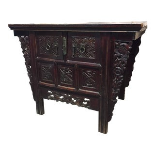 Early 20th Century Antique Chinese Altar Cabinet For Sale
