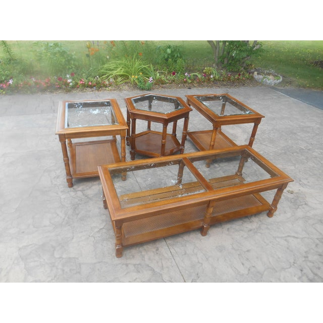 Mid-Century Modern 1960's Mid-Century Coffee Table Set - 4 Pieces For Sale - Image 3 of 7