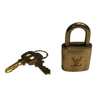 Authentic Louis Vuitton Lock & Keys For Sale