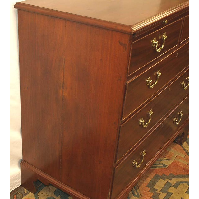 Traditional 19th Century English Chippendale Chest of Drawers For Sale - Image 3 of 10