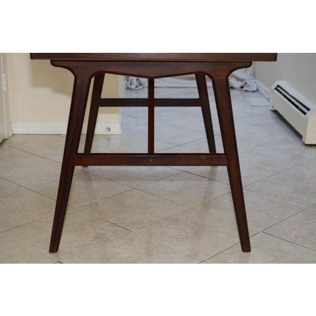 Vintage Arne Wahl Iversen Model 64 Rosewood Vinde Mobelfabrik Desk For Sale - Image 10 of 13