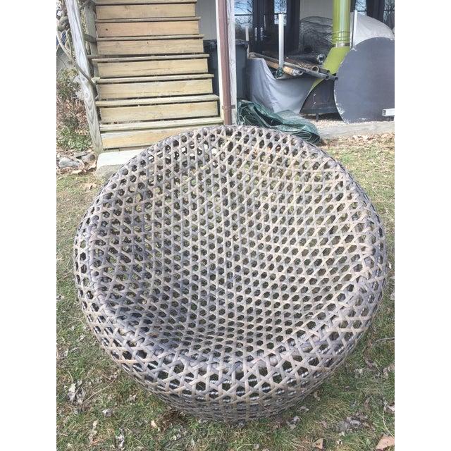 West Elm Montauk Nest Chairs - Set of 3 - Image 4 of 5