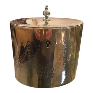 Brass Tea Caddy For Sale