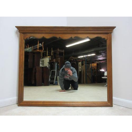 Up for consideration is this wall mirror by Ethan Allen, made in c.1776. It is in great shape, has minor wear and rub...