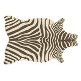 """Image of Loloi Rugs Zadie Rug, Brown / Ivory - 3'6""""x5'6"""" For Sale"""
