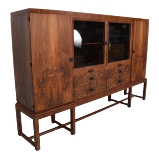 Bruno Paul Rosewood Cabinet Deutsche Werkstätten Hellerau GmbH Art Deco For Sale