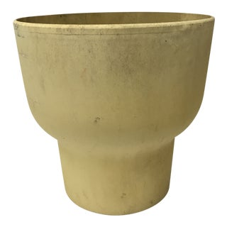 Mid-Century Architectural Chalice Planter For Sale