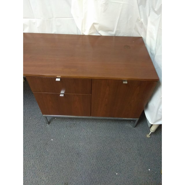 Knoll Mid-Century Modern Wood Credenza - Image 4 of 9