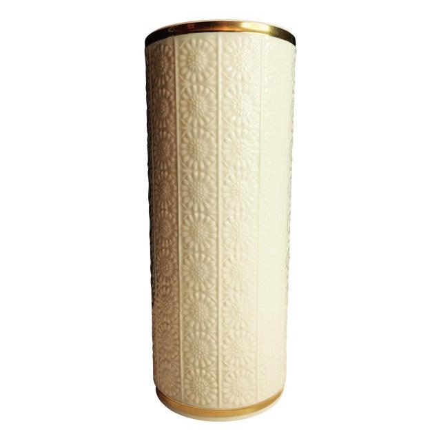 Lenox Sunflower Pillar Vase Chairish