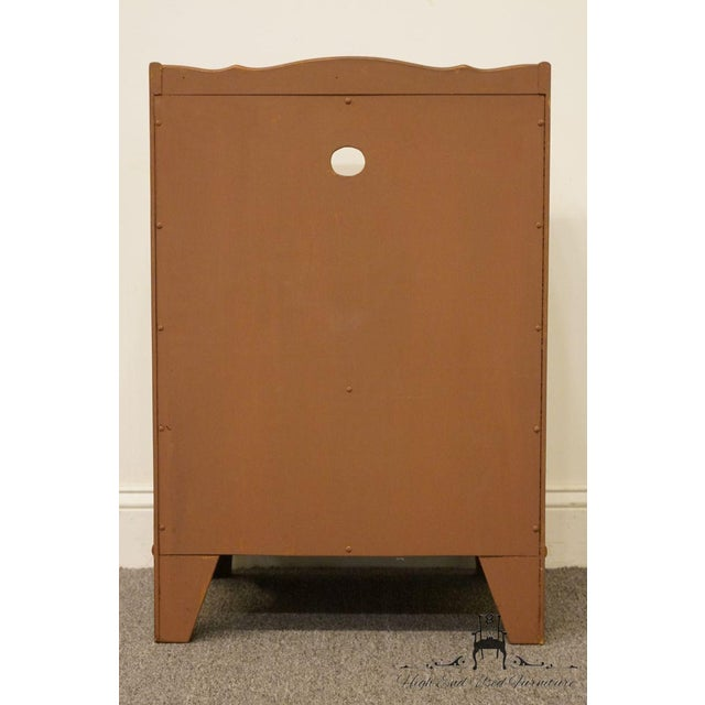 "Kindel Grand Rapids Solid Cherry 20"" Nightstand For Sale - Image 11 of 13"