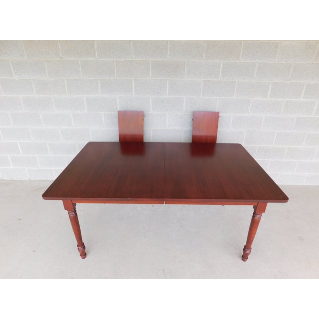 Tom Seely Solid Cherry Country Style Dining Table Chairish