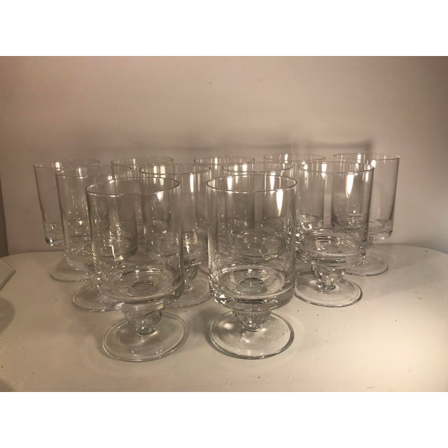 1980s Waterford Rotondo Crystal Water Glass Goblets - Set of 11 For Sale - Image 5 of 7