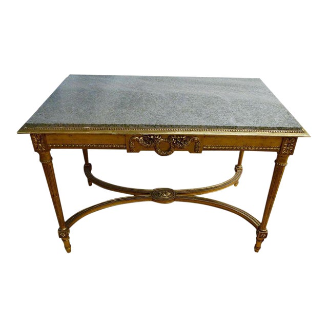 19th century french center table chairish for Table th center text