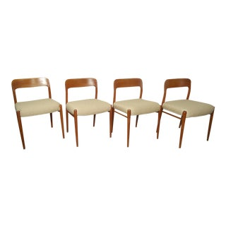 Set of Four Niels O. Møller Dining Chairs For Sale