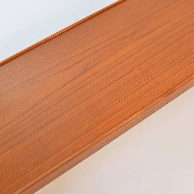Mid-Century Modern Long Teak Bench 'Krobo' by Torbjörn Afdal for Bruksbo For Sale - Image 3 of 9