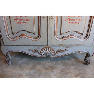 Painted French Country 2 Door Cabinet Preview