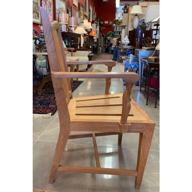 1990s 1990s Vintage Sutherland Matisse Teak Dining Chairs- A Pair For Sale - Image 5 of 13