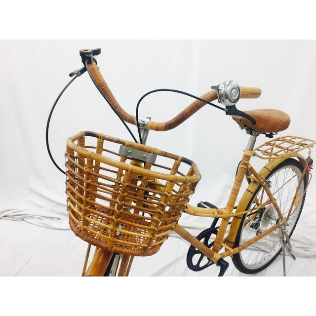 Vintage Bamboo Bicycle - Full Size - Image 10 of 11