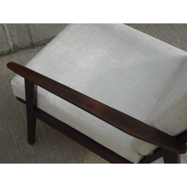 Restored Danish Modern Style Armchair - Image 9 of 11