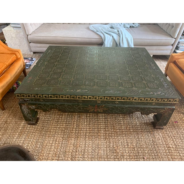 Mid 20th Century Asian Baker Coffee Table For Sale - Image 9 of 9