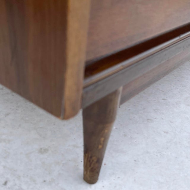 Brown Mid-Century Modern Six Drawer Dresser For Sale - Image 8 of 13