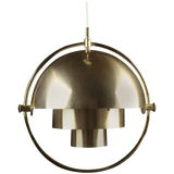Image of Original Multi-Light Pendant by Louis Weisdorf for Lyfa/ 4 Available For Sale