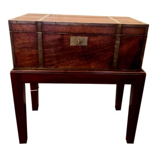 Antique Travel Writing Desk For Sale