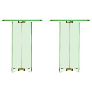 End Tables in the Style of Fontana Arte Style