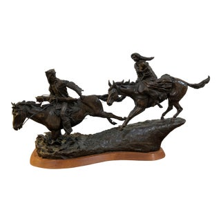 High Plains Avenger, Bronze Sculpture For Sale