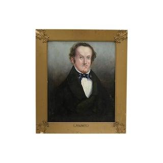 Antique English Oil Portrait of a Man For Sale