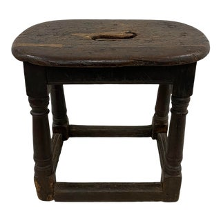 17th Century Oak Joint Stool / Bench For Sale