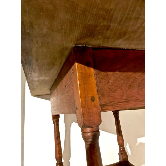 1790 Traditional Tavern Center Table For Sale - Image 11 of 12