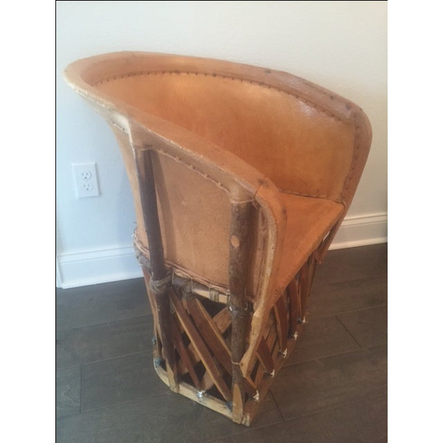 Mexican Equipale Chair For Sale - Image 5 of 11