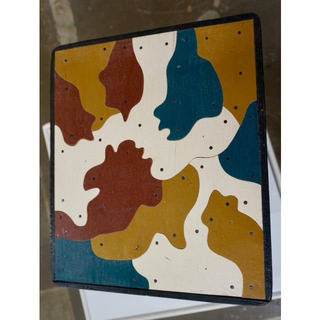 Art Stools by Thorsten Passfeld- Set of 6 For Sale In Palm Springs - Image 6 of 9