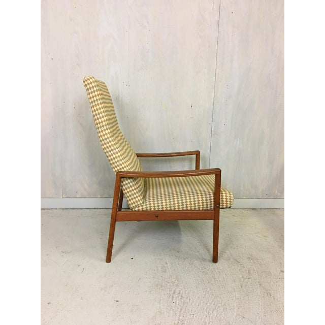Manufactured in Sweden for Ulferts Fabriker circa 1960s, this high-backed lounge chair has a great look. Previously...