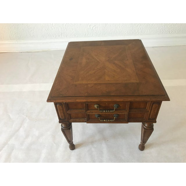 1970s Traditional Heritage Side Table For Sale - Image 13 of 13