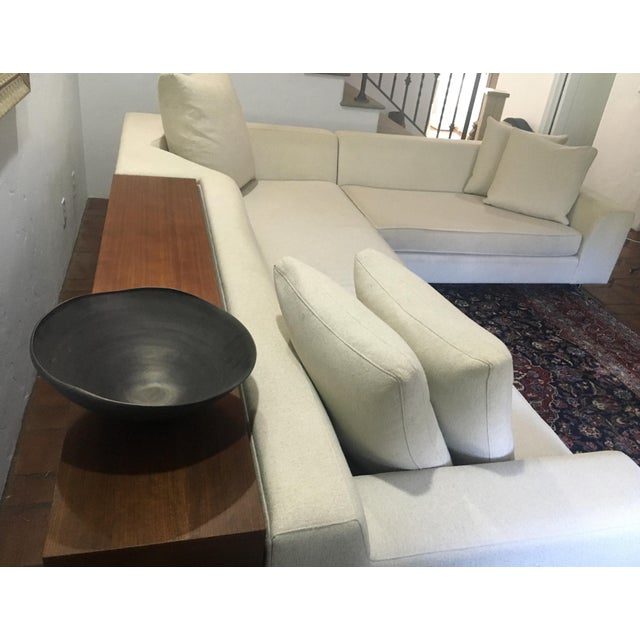 Vioski Shea Sectional With Walnut Console - Image 8 of 13