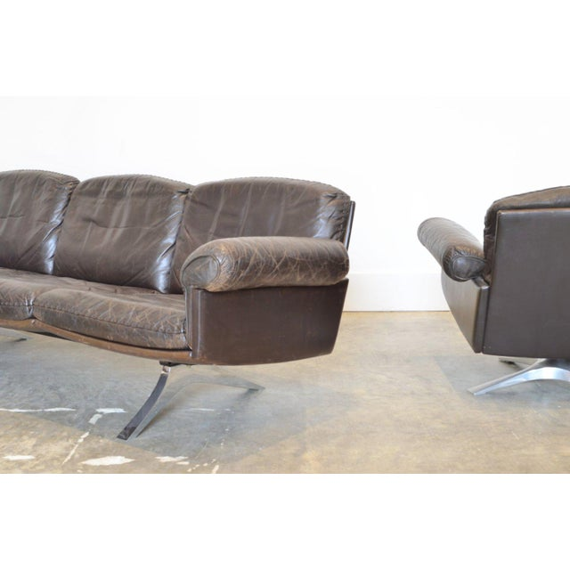 Modern Desede Ds-31 Leather Sofa For Sale - Image 3 of 5