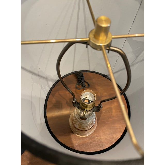 Mid-Century Handmade Pottery Lamp For Sale In Los Angeles - Image 6 of 9